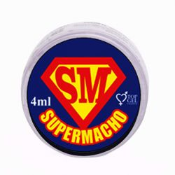 SUPER MACHO (POTENCIALIZADOR E PROLONGADOR DE EREÇÃO) 4G - TOPGEL
