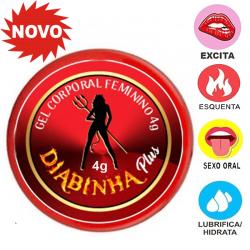 Diabinha Plus (Facilitador de orgasmo) Excitante 4g - Top Gel